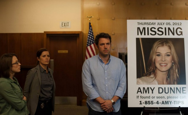 Bestseller Gone Girl adapted into chilling film
