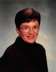 Vicki McCormack poses for her yearbook picture. She worked in the main office for 30 years.