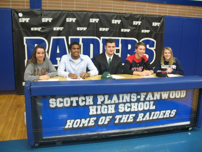 Five Seniors Sign NLIs on National Signing Day