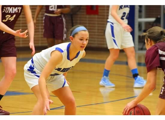 Freshman girls shine on varsity basketball team