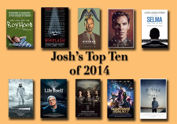 Josh's top 10 movies of 2014