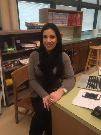 Marisa Sinclair: New Teacher Brings a Fashionable Perspective to SPFHS