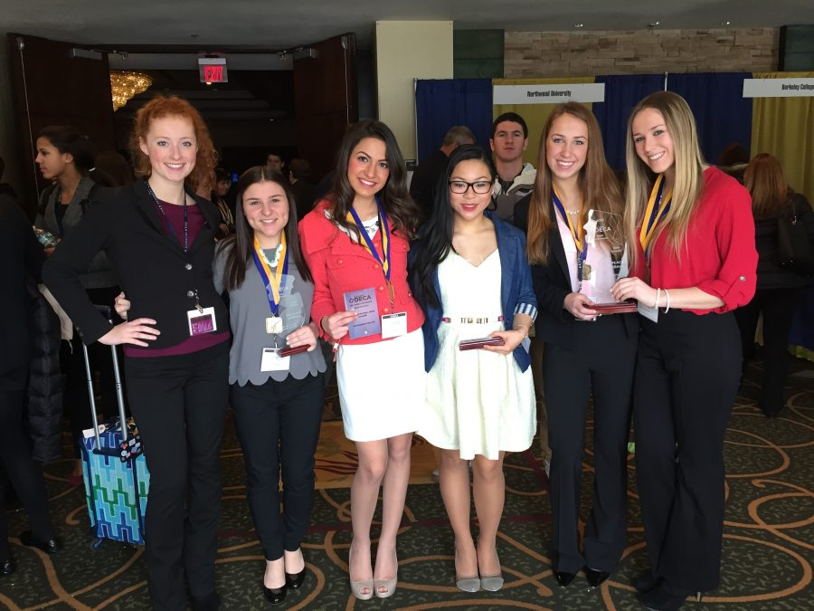 13 DECA members qualify for ICDC through state conference