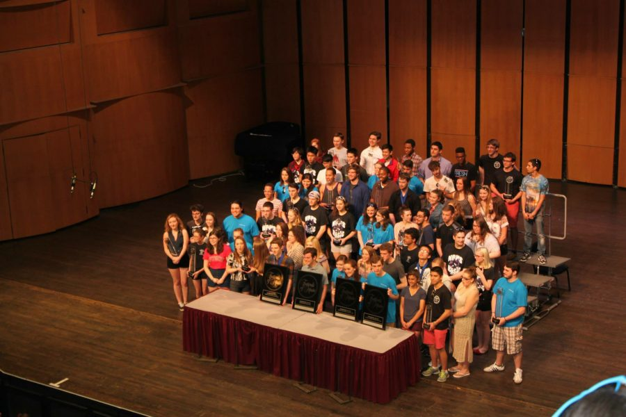 SPF Music Department Sweeps Competition