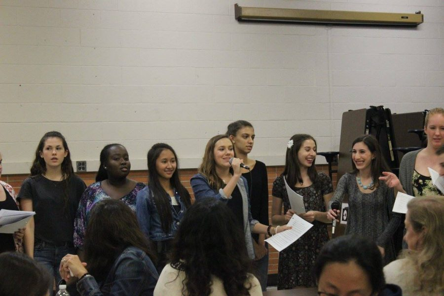 "Watch students cook up a musical feast at ""Pasta Night"""
