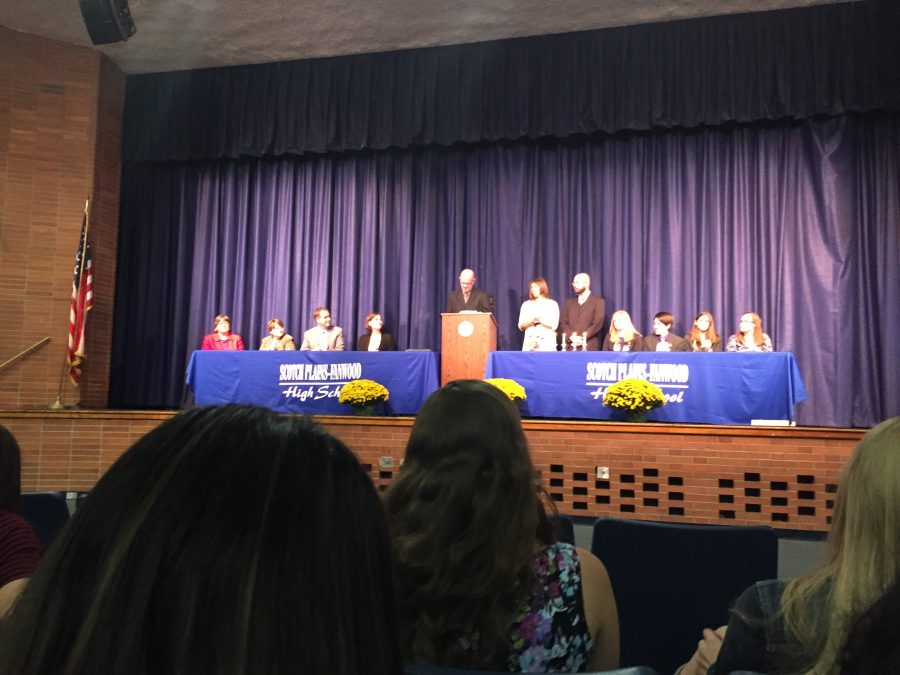 National Honor Society inducts 68 members