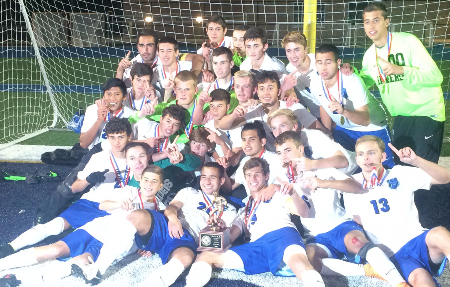 Viglione's header gives boys soccer its 19th UCT Title, 5th in a row