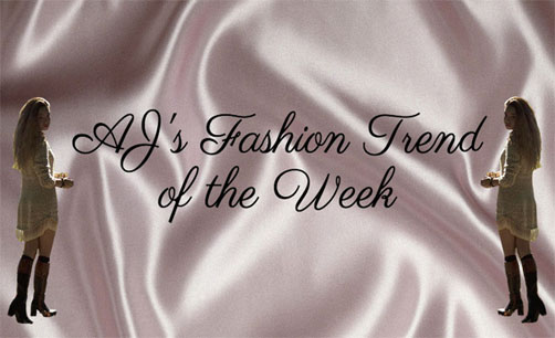 Fall Fashion Trend of the Week: Sweater Dresses and T-Shirt Dresses