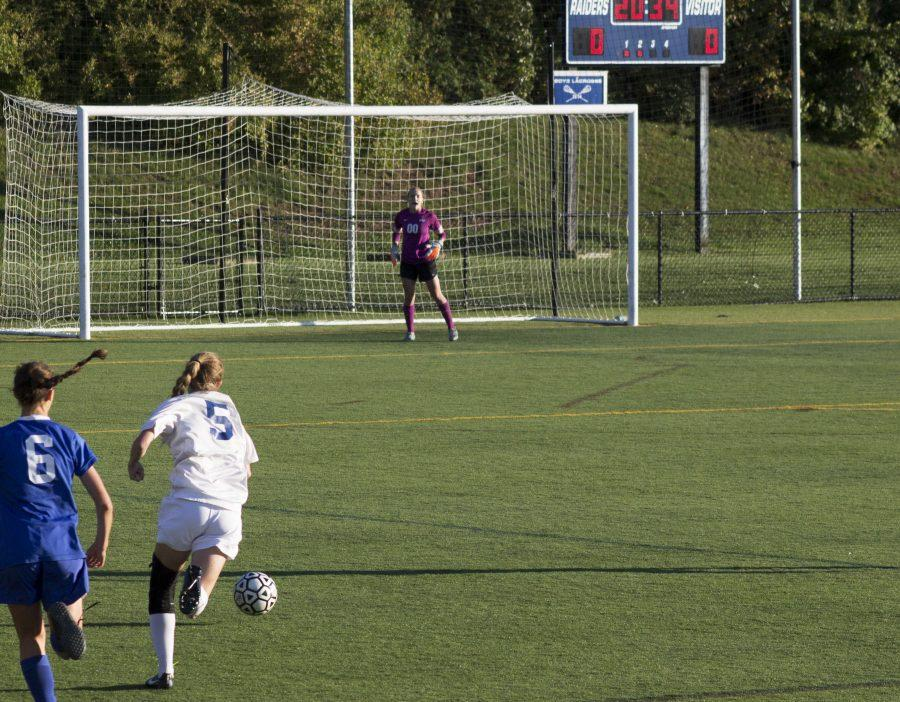 Lady Raiders defend against Westfield with a scoreless tie