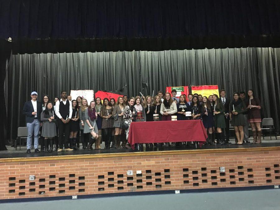World Language Honor Society inducts 48 members