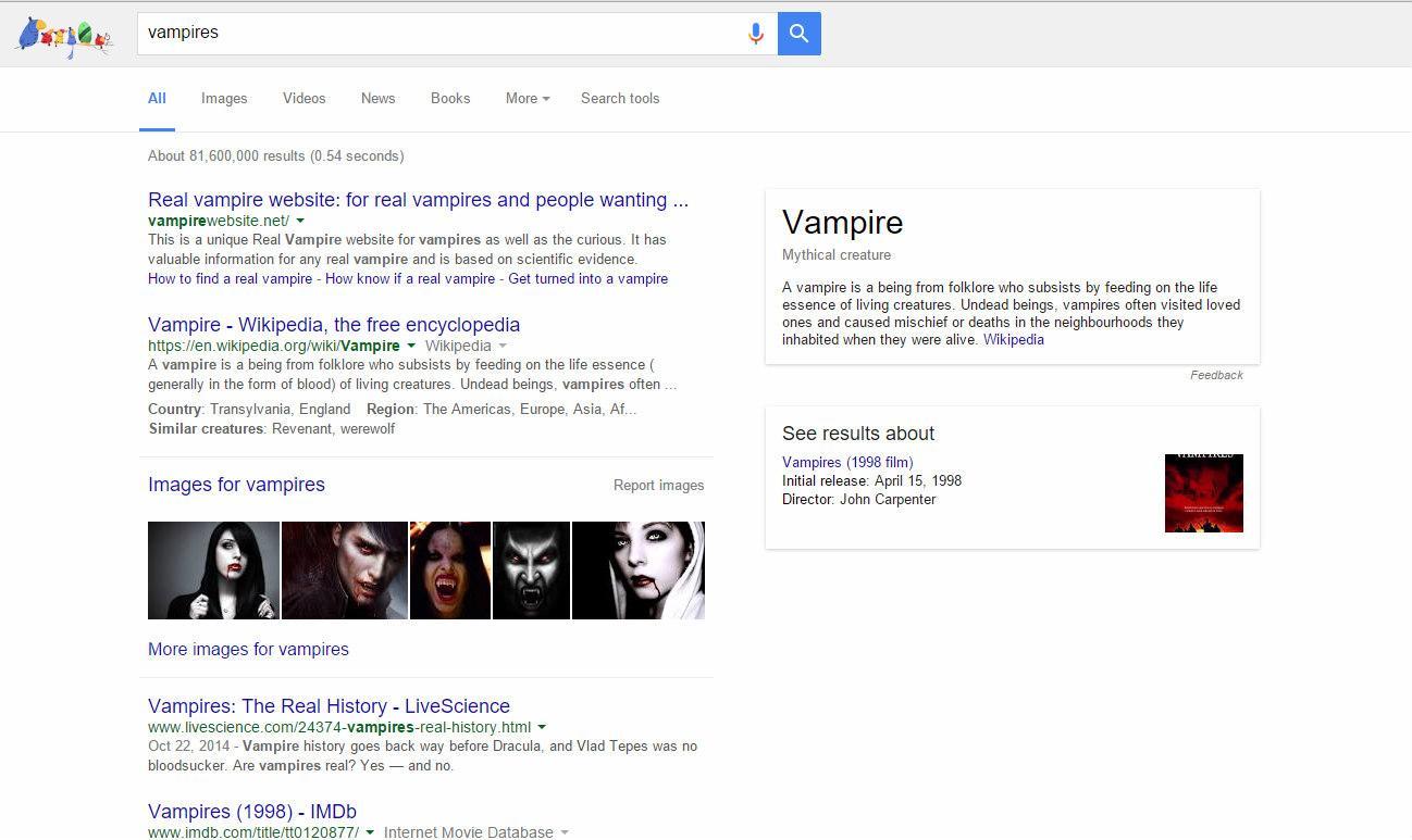 screenshot vampire