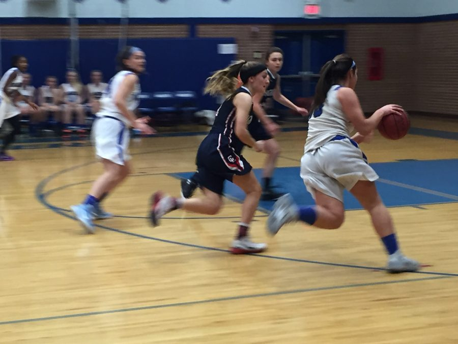 Girls basketball easily takes down Governor Livingston