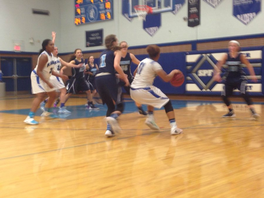 Girls Basketball crushes Johnson in 4th game of the season