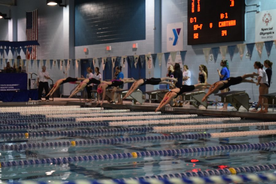 PHOTO EXCLUSIVE: Girls swimming state semi-finals
