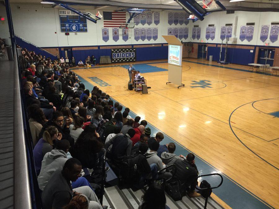 Healthy Lifestyles assemblies enlighten students