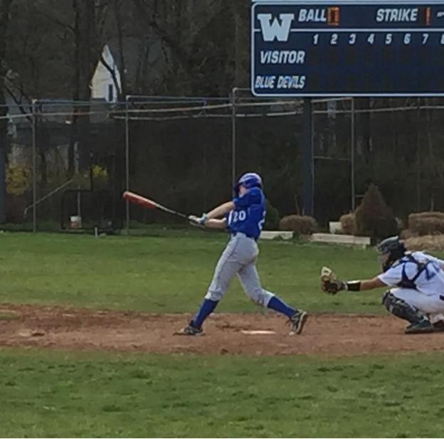 Boys Baseball mercy cross-town rival Westfield in Opener