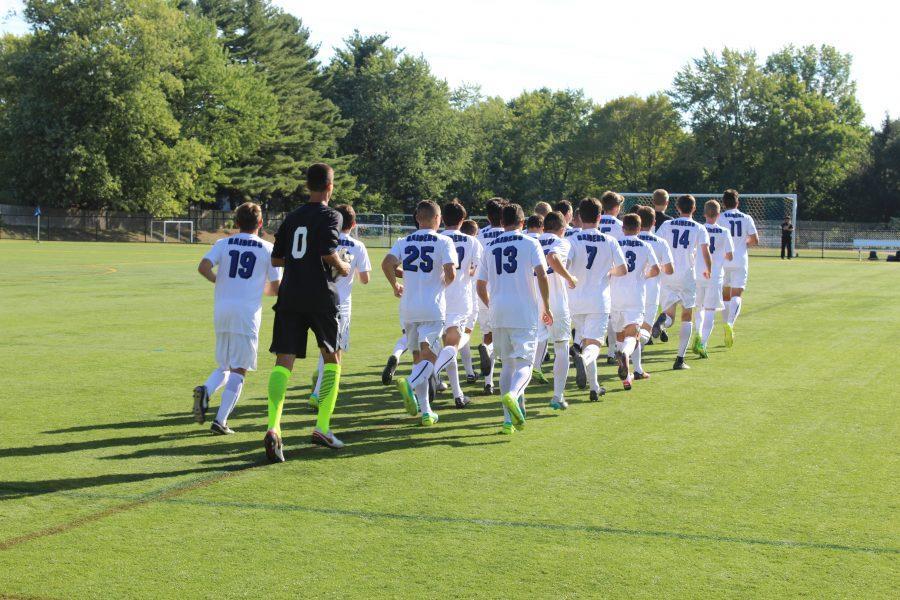 Boys soccer defeats Hunterdon Central 1-0