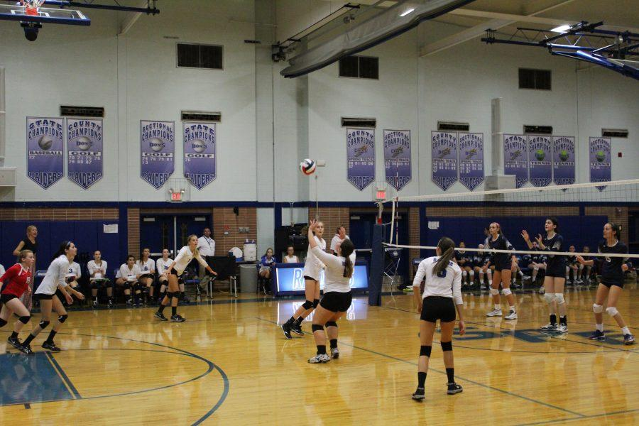 Volleyball+loses+nail-biter+to+Chatham