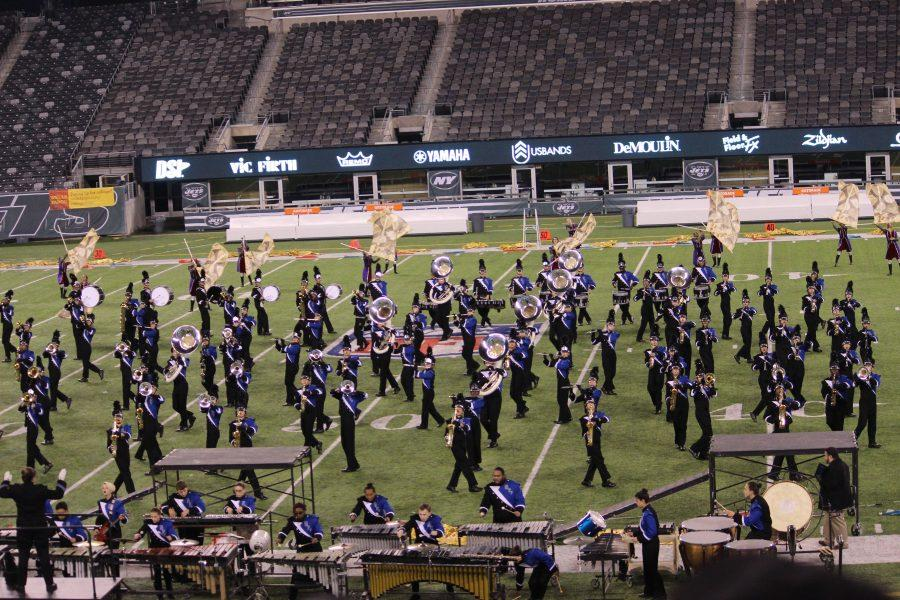 Marching Band Concludes Season With High-Energy Performance at Metlife Stadium