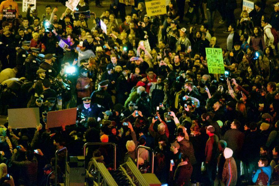 Anti Trump Protests erupt in major US cities