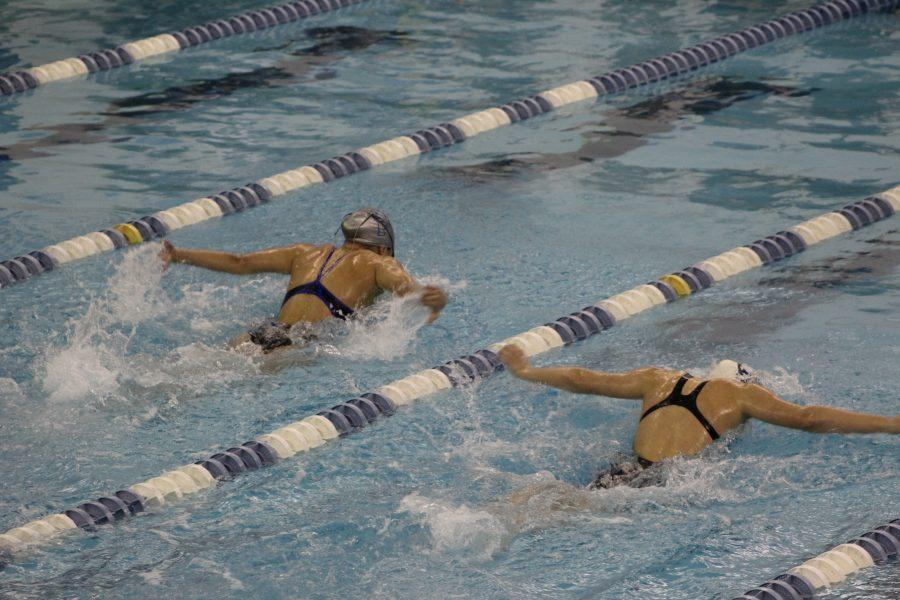 Girls swimming beats Westfield; Boys swimming falls to Blue Devils