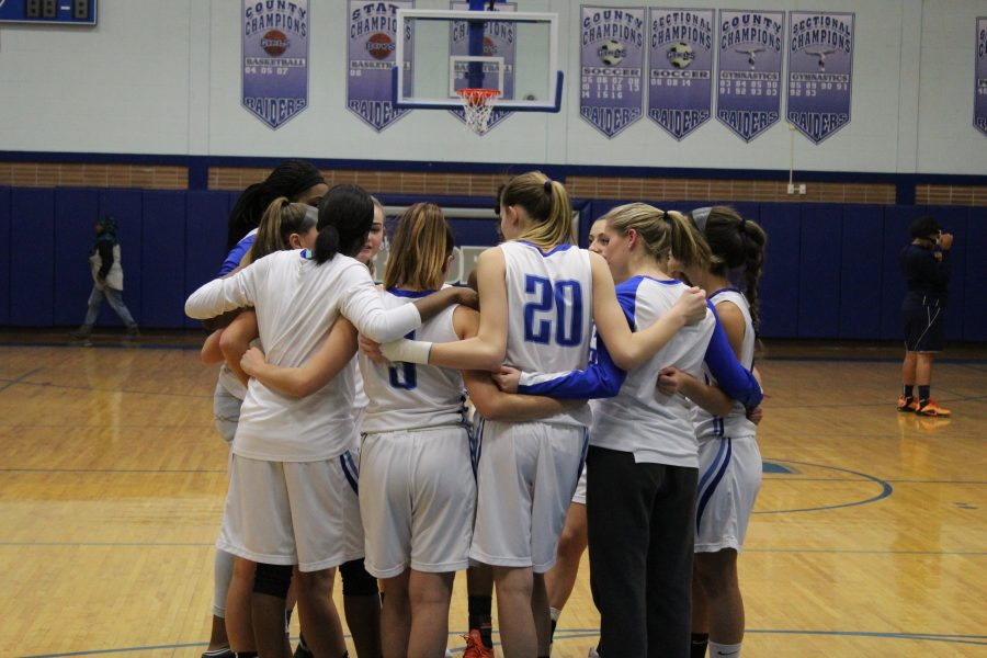 Girls+Basketball+Cruise+to+Victory+in+County+Game