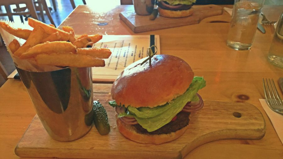 Butcher Block Burgers allows for fine dining