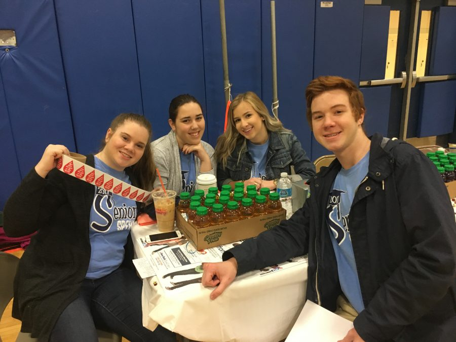 SGA and senior class hosts annual blood drive