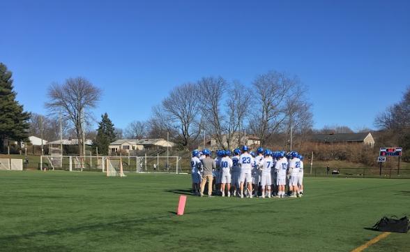 Boys lacrosse beat Cranford, 13-3