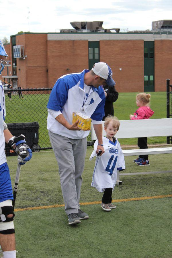 Inspiring Five-Year-Old Visits Boys Lax