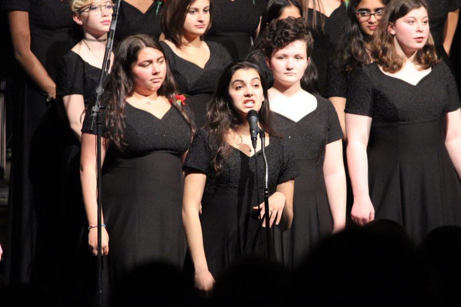 Scenes from the 2017 Spring Choral Concert