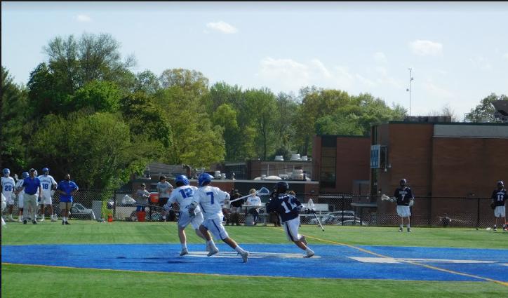 Boys lacrosse take the lead in game versus Oratory Prep