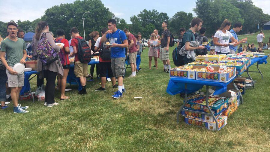 Class of 2017 celebrates their up coming graduation at the senior picnic