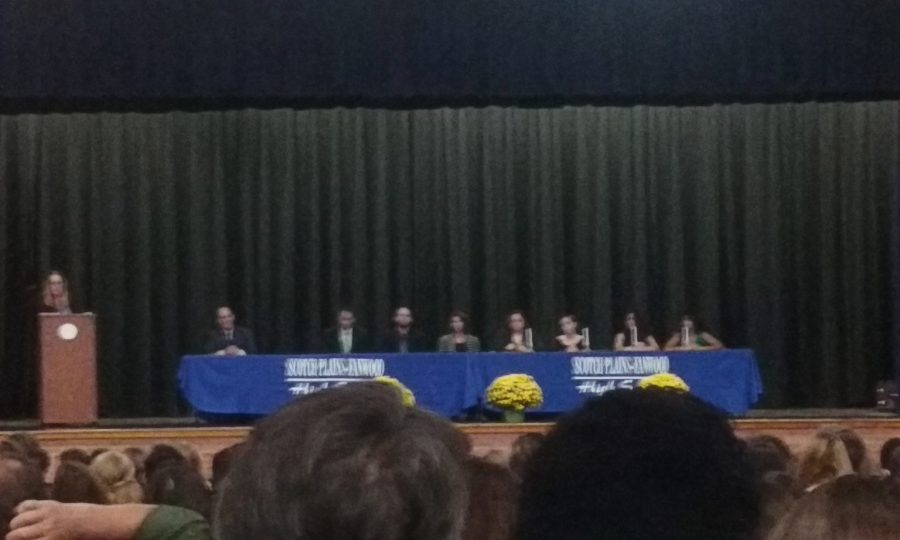 New Inductees for the SPF Chapter of the National Honor Society
