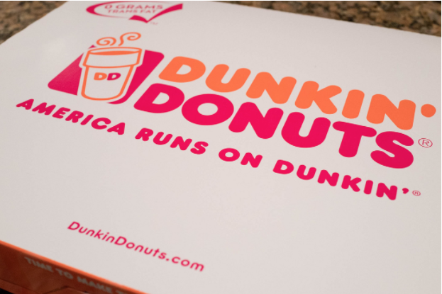 Dunkin' Donuts is sharing the love with their V-Day menu