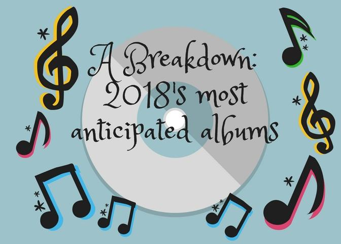 A Breakdown: 2018's most anticipated albums