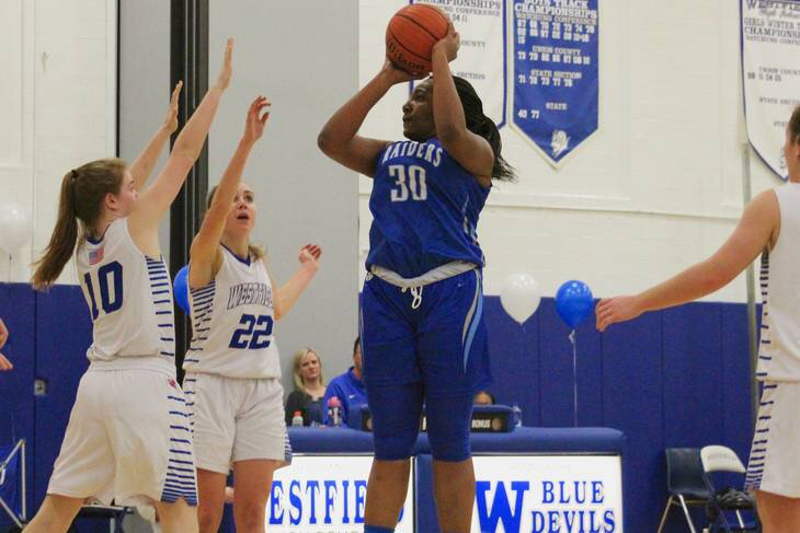 Girls Basketball: Late rally falls short as Raiders defeated by Westfield