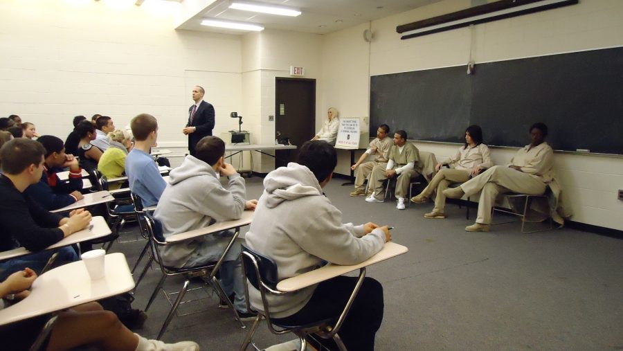 Project P.R.I.D.E inmates share inspirational messages with SPFHS students