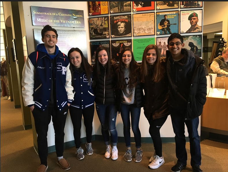 US II students visit the New Jersey Vietnam War Memorial
