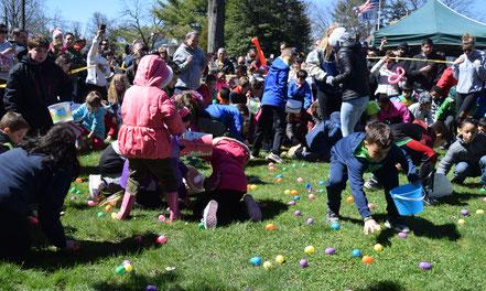 Scotch Plains Easter egg Hunt entertains local families