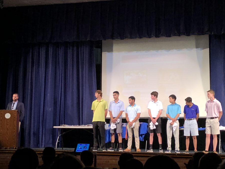 2018 annual Spring Sports Awards