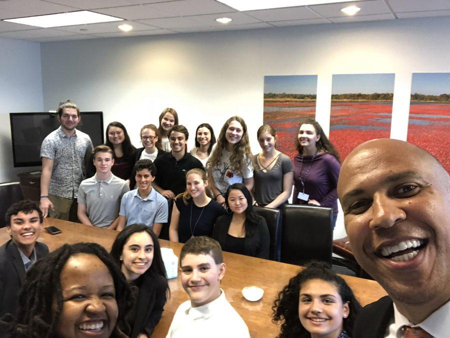 Students+engage+in+discussion+with+Senator+Cory+Booker