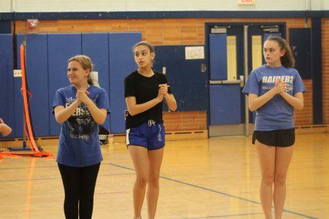 SPF cheerleaders jump into the new season