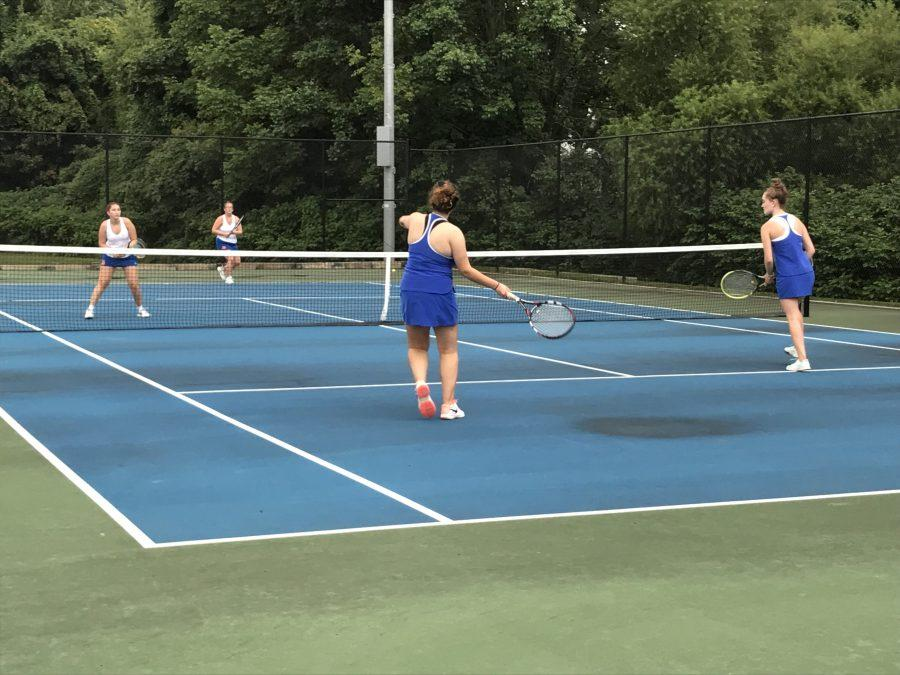Girls Tennis team looks to impress in the 2018 season
