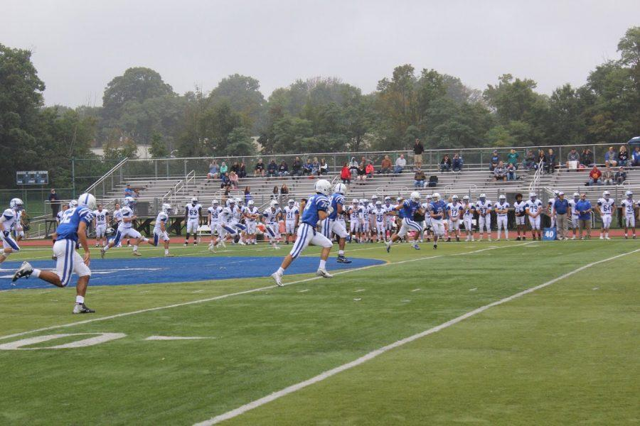 Football team suffers loss against Warren Hills