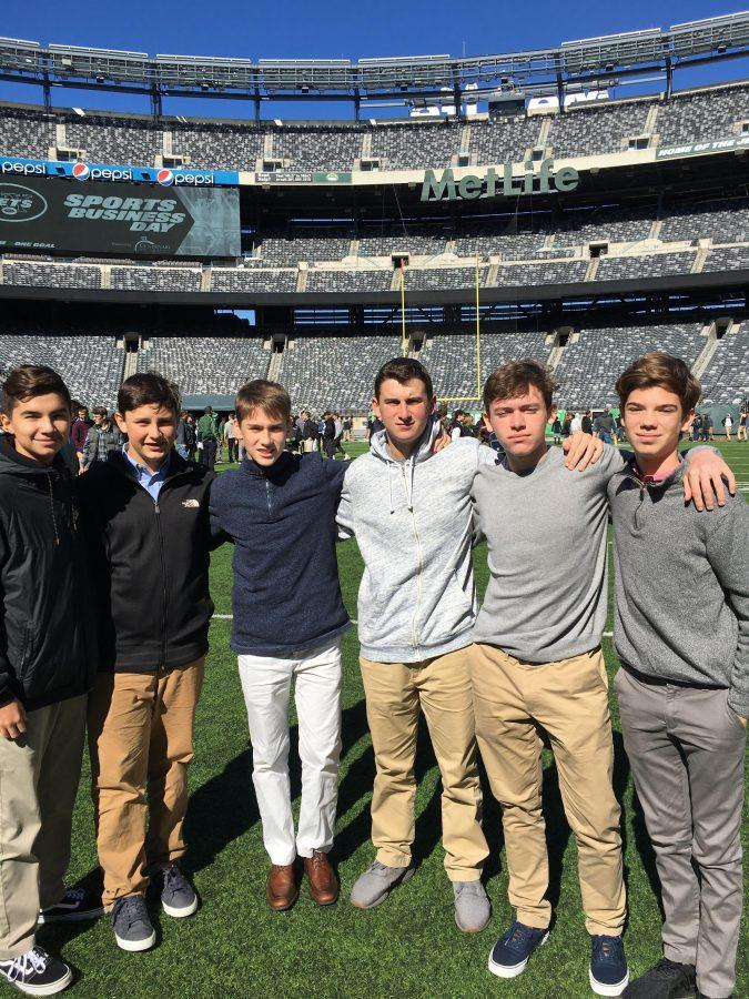 FBLA and DECA visit MetLife Stadium for Jets Sports Business Day