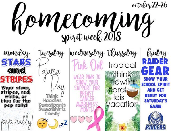 SPFHS hosts its first Spirit Week of the year
