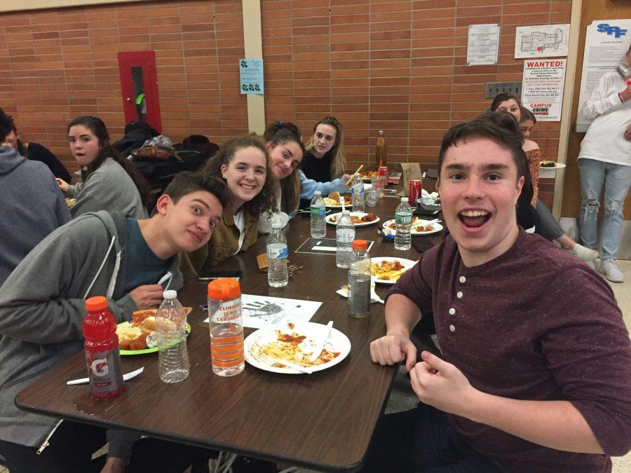 SPF Music Boosters host successful annual Pasta Night