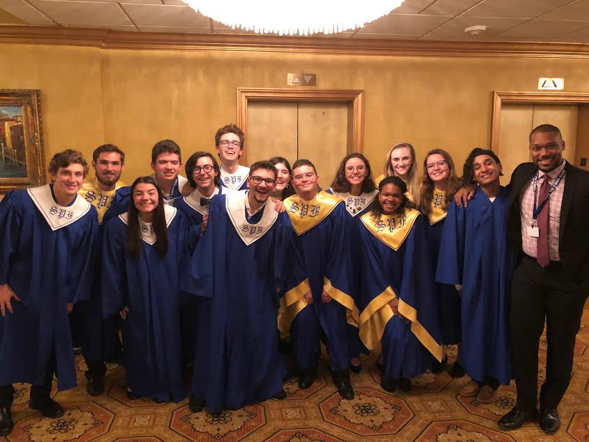 SPF students perform in the New Jersey All-State Chorus