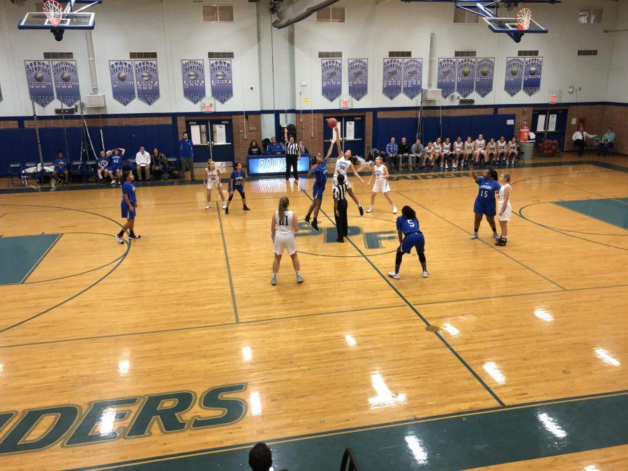 Girls varsity basketball: Raiders prevail in home opener vs Carteret